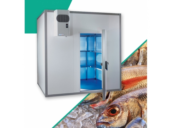 Chambre froide poisson 9.6 m3