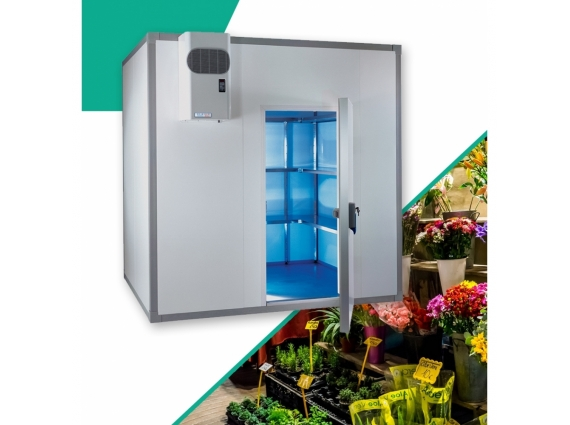 Chambre froide fleuriste 5.1 m3