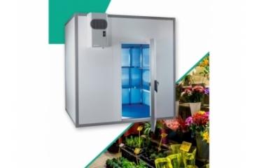 Chambre froide fleuriste 9.6 m3