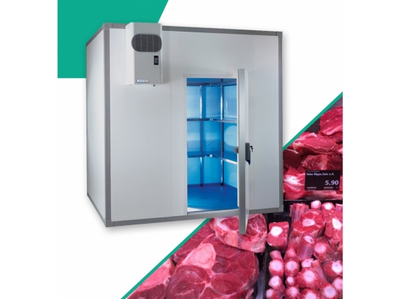 Chambre froide boucherie 11.2 m3