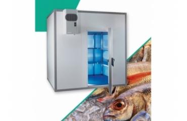 Chambre froide poisson 6.4 m3