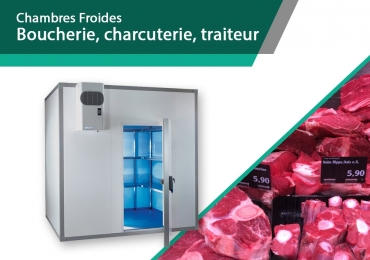 Chambre froide boucherie